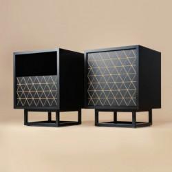 LOWBO XS szafka nocna  w industrialnym stylu polski design