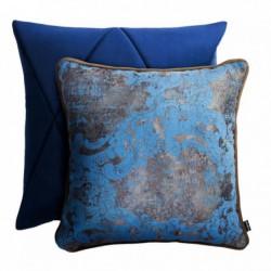 TOUCH+GOLD niebieski zestaw poduszek dekoracyjnych