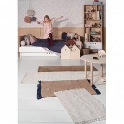RIVER łóżko 90x200 w stylu skandynawskim