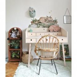 RIVER SKLEJKA biurko w skandynawskim stylu