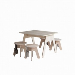 PEEKABOO DESK stolik w skandynawskim stylu