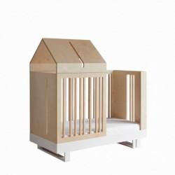 ROOF CRIB łóżko z zestawem przekształceniowym w skandynawskim stylu