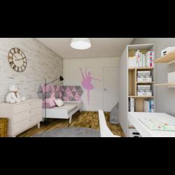 ANIELKA gotowy projekt pokoju dziecięcego