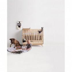 NEST.CRIB łóżeczko dziecięce ze sklejki w skandynawskim stylu