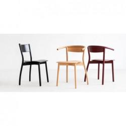 FALA A-1906 krzesło z litego drewna, styl nowoczesny, polski design