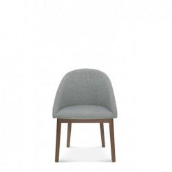 POP A-1901 krzesło tapicerowane styl mid-century
