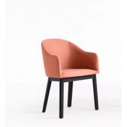 POP B-1901 krzesło tapicerowane styl mid-century