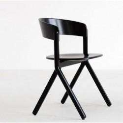 SIGNA krzesło z litego drewna, styl nowoczesny, polski design