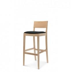 CLASS BST-0955 krzesło barowe z litego drewna, styl nowoczesny, polski design