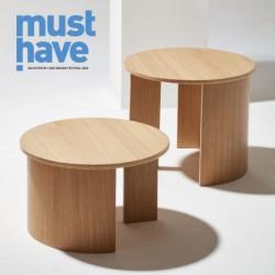 GIRO SMALL okrągły stolik kawowy w stylu bauhaus