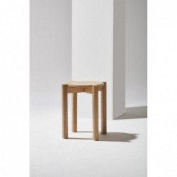 PIANO STOOL okrągły stołek w stylu bauhaus