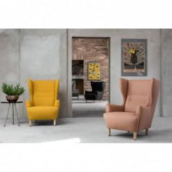 MUNO fotel tapicerowany polski design