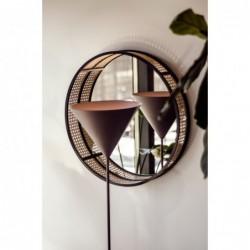 KONKO FLOOR metalowa lampa w loftowym stylu