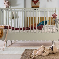 BABUSHKA łóżko w stylu retro 70x140cm