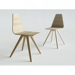CANT krzesło z litego drewna polski design