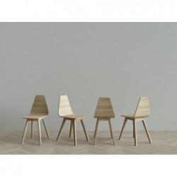 FORM krzesło z litego drewna polski design