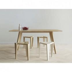 UKOS stołek z litego drewna...