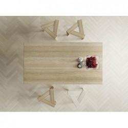 UKOS stołek z litego drewna polski design