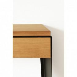 KONSOLA drewniana konsola w loftowym stylu