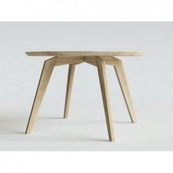 REDS okrągły stół z litego drewna polski design
