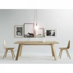 CROSS KANT stół z litego drewna polski design