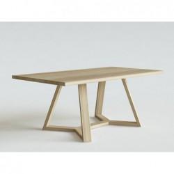 FLOW KANT stół z litego drewna polski design