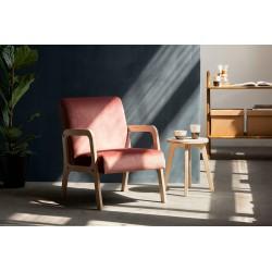 FRISK R tapicerowany fotel ze sklejki polski design