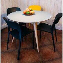 PLANET okrągły stół do jadalni w skandynawskim stylu