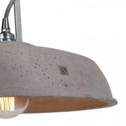 INDUSTRIOLA lampa betonowa styl loftowy
