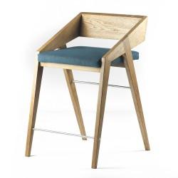 PIKO HOKER drewniane krzesło w skandynawskim stylu, polski design