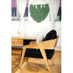 PIKO drewniany fotel w skandynawskim stylu, polski design
