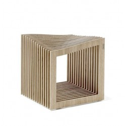 FALON siedzisko stołek ze sklejki polski design