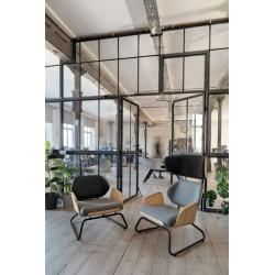 PANKA HI fotel w stylu vintage, polski design