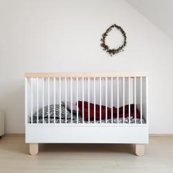 TEDDY łóżeczko dziecięce 70x140cm polski design styl skandynawski