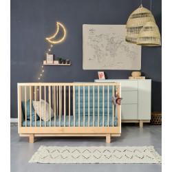BASIC łóżko w stylu skandynawskim