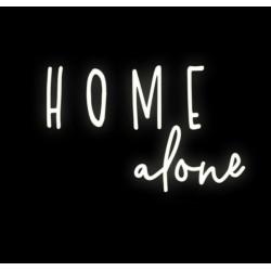 HOME ALONE LEDON świecący napis na ścianę neon