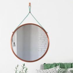 SCANDI POWER MINT okrągłe lustro w skandynawskim stylu