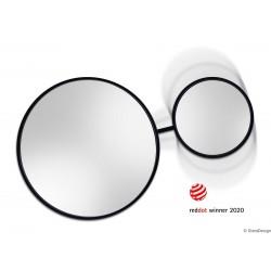 SCANDI DUO okrągłe podwójne lustro w skandynawskim stylu