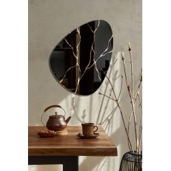 FLY KINTSUGI eleganckie lustro w stylu modernistycznym