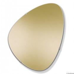 FLY ZŁOTE eleganckie lustro w stylu modernistycznym