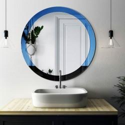 SUNRISE okrągłe lustro w stylu modernistycznym