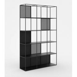 MOTIVO minimalistyczny regał z ażurowymi elementami polski design