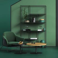A-SYMETRIC minimalistyczny regał stalowy w stylu loftowym