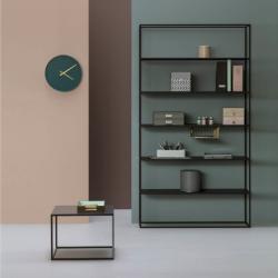 REGALO minimalistyczny regał stalowy w stylu loftowym