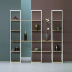 TRIPPLE minimalistyczny regał stalowy w stylu loftowym