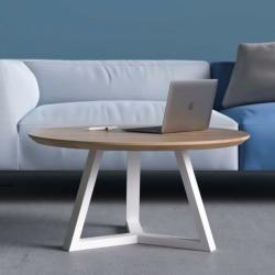 TRIO MINI okrągły minimalistyczny stolik kawowy, styl skandynawski