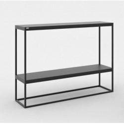 SKINNY MDF minimalistyczna konsola w industrialnym stylu