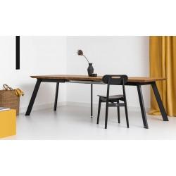 MEZZO ROZKŁADANY minimalistyczny stół styl industrialny