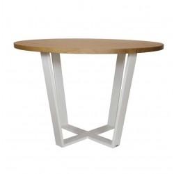 OKRĄGŁY 110 minimalistyczny stół styl industrialny