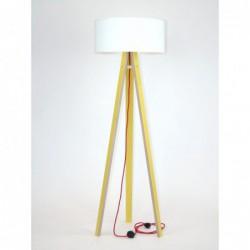 WANDA żółta lampa w skandynawskim stylu
